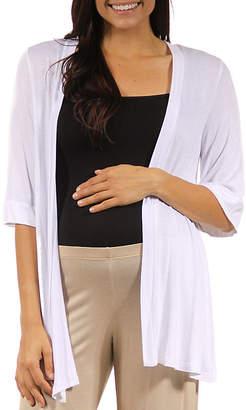24/7 Comfort Apparel Cardigan-Plus Maternity
