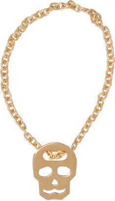 VANRYCKE Skull ring in pink gold