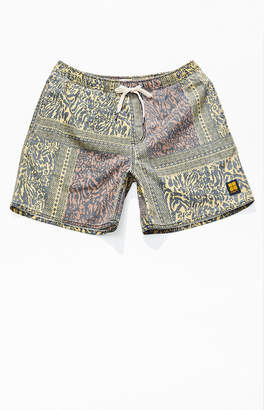 Insight Animal Tile Drawstring Shorts