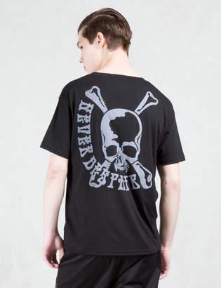 Roen V neck Skull Pocket S/S T-Shirt