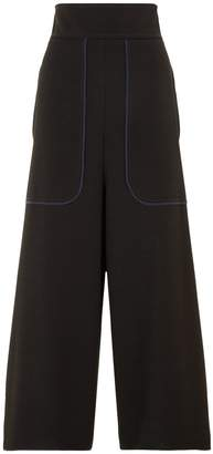 See by Chloe Textured Crepe Culottes