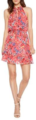 Parker Serenity Floral Silk Minidress