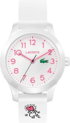 Lacoste Kids 12.12 Rubber Strap Watch, 32mm
