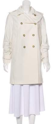 Gucci Short Double-Breasted Coat