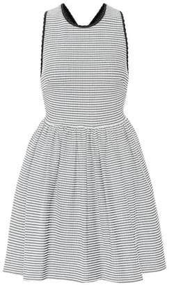 Miu Miu Striped knit minidress