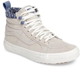 Women's Vans Sk-8 Hi Mte Sneaker $84.95 thestylecure.com