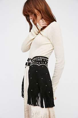 Understated Leather Paris Texas Chaps Belt