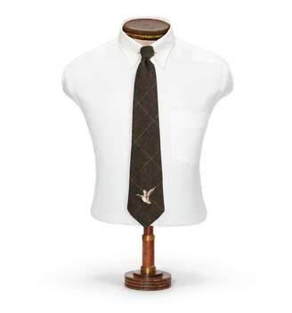 Ralph Lauren Handmade Plaid Wool Tie