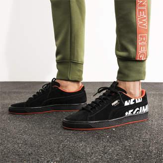 PUMA x ATELIER NEW REGIME Suede Sneakers
