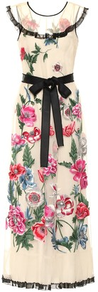 RED Valentino Embroidered floral gown