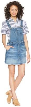 7 For All Mankind Mini Skirt Overall in Desert Oasis 5 Women's Skirt