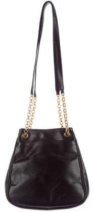 Bottega VenetaBottega Veneta Embossed Leather Shoulder Bag