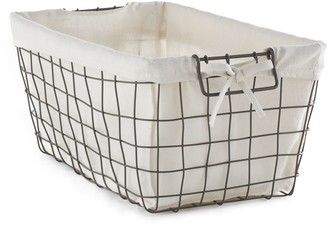 Soho Market Rustic Wire Storage Bin