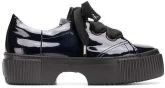 AGL platform low-top shoes