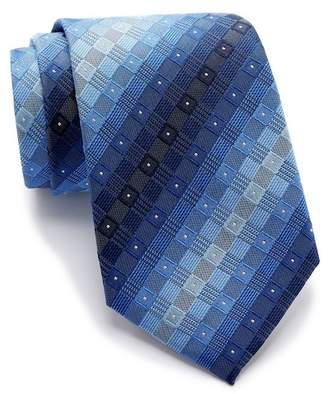 Kenneth Cole Reaction Multi Box Silk Tie