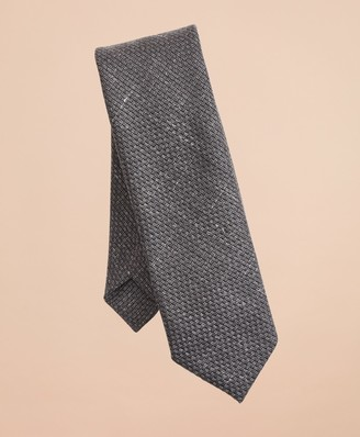 Brooks Brothers Wool-Blend Patterned Textured Tie