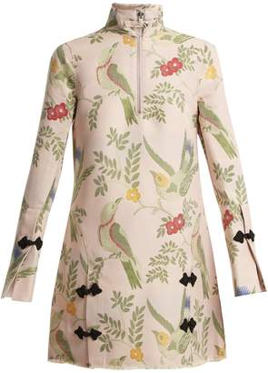 Marques Almeida MARQUES'ALMEIDA Janis bird-brocade dress
