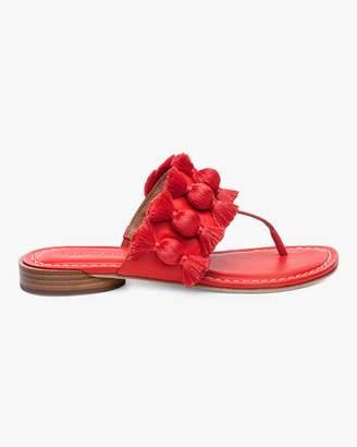 Bernardo Tara Fringe Tassel Sandal
