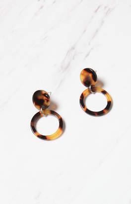 La Hearts Acrylic Drop Earrings