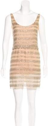 Alice + Olivia Silk Embellished Dress