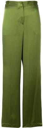 Equipment wide leg trousers