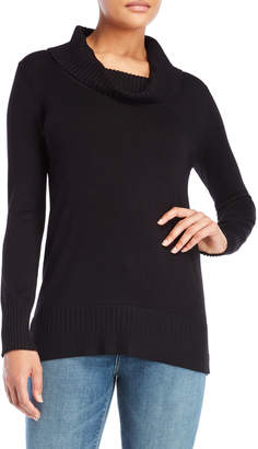 Cable & Gauge Cowl Neck Tunic