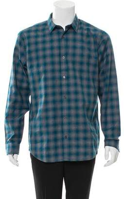 Vince Plaid Button-Up Shirt w/ Tags