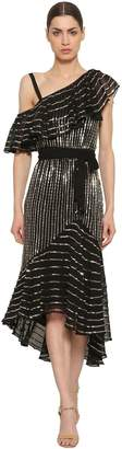 Temperley London Sequined Georgette Dress