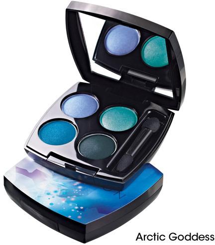 Avon TRUE COLOR Eyeshadow Quad - Arctic Goddess Collection