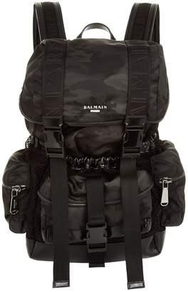Balmain Camouflage Army Elite Backpack