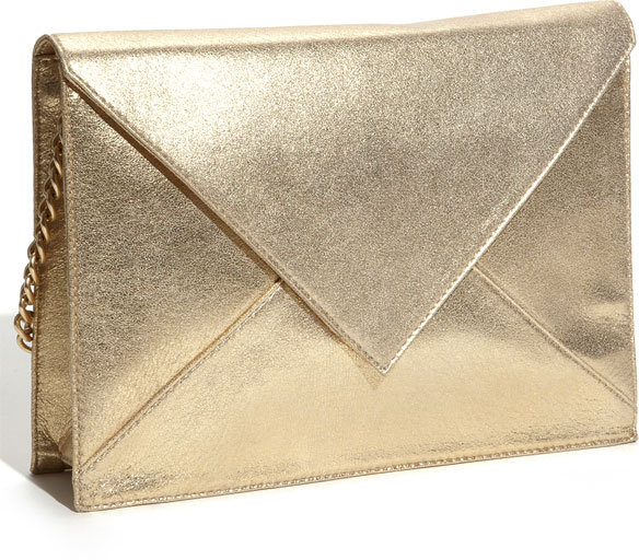 Foley + Corinna 'Mega Parcel Oversized' Metallic Clutch