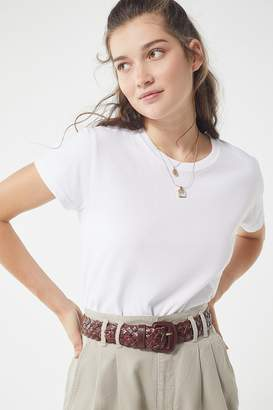 Urban Outfitters Covered Woven Buckle Belt