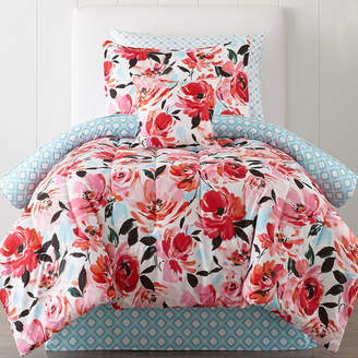 JCPenney JCP HOME HomeTM Jenna Floral Complete Bedding Set with Sheets