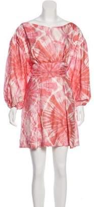Veronica Beard Long Sleeve Mini Dress