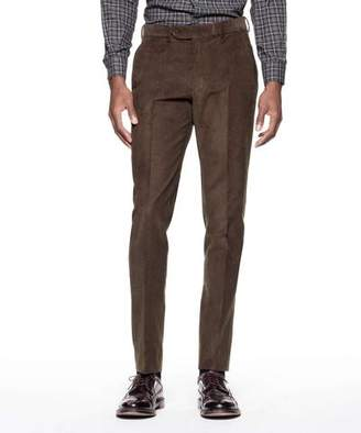 Todd Snyder Sutton Suit Pant in Italian Olive Corduroy