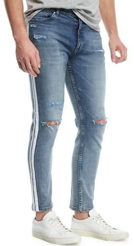 Ovadia & Sons OS-1 Side-Stripe Slim Skinny Jeans
