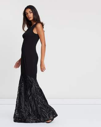 Megan Fishtail Maxi Dress