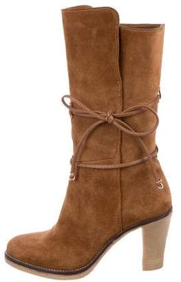 Johnston & Murphy Suede Mid-Calf Boots
