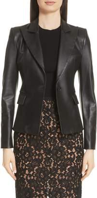 Michael Kors Plonge Leather Jacket