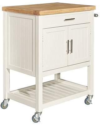 Powell Conrad Kitchen Cart, Multiple Finishes