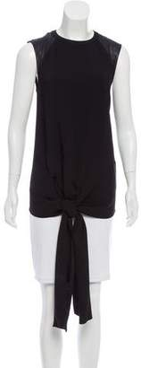 Reed Krakoff Sleeveless Paneled Top