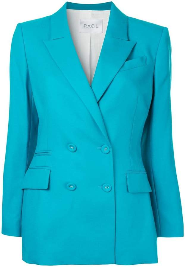 Racil Archie double breasted blazer