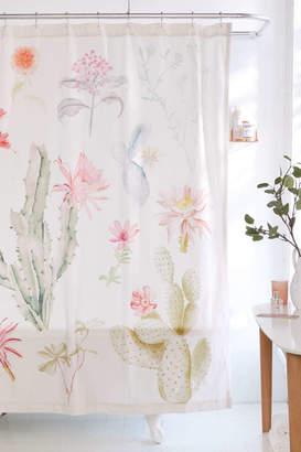 Desert Flora Shower Curtain