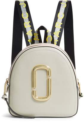 Marc Jacobs Leather Logo Backpack