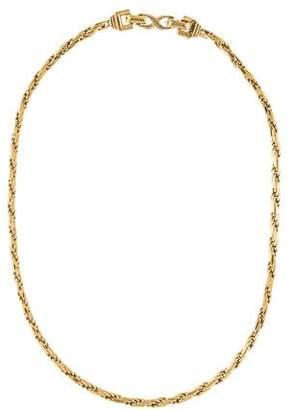 Nina Ricci Rope Chain Necklace