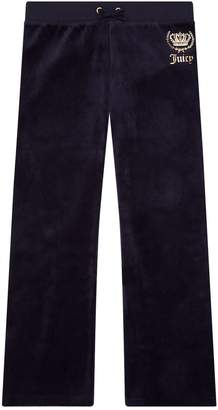Juicy Couture Crowned Velour Sweatpants