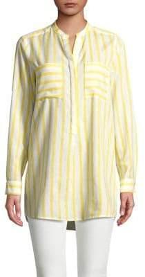 Vero Moda Striped Hi-Lo Shirt