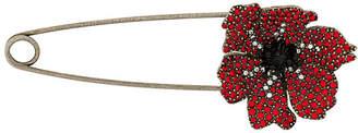 Sonia Rykiel embellished anemone pin