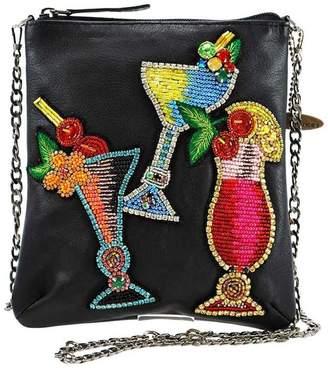 Mary Frances Mini Leather Handbag