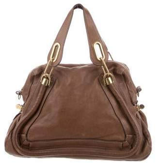 Chloé Leather Paraty Bag Brown Chloé Leather Paraty Bag